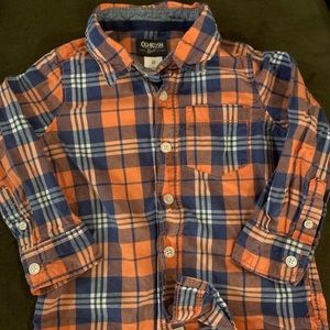 Carter's Shirts & Tops - Oshkosh 3t! Button up